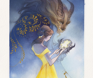 disney and beauty and the beast image