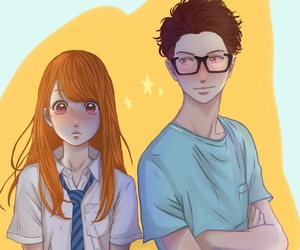 couple, manga girl, and shoujo image