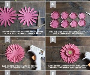 diy, paper flowers, and diy ideas image