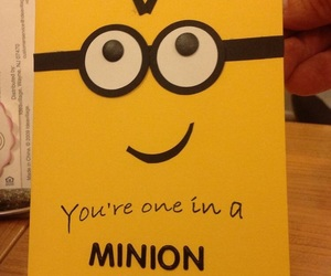 minions, card, and cute image
