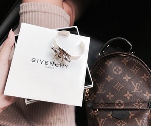 fashion, Givenchy, and Louis Vuitton image