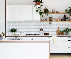 bonheur, white, and kitchen image