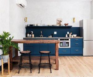 blue, decoration, and interior image