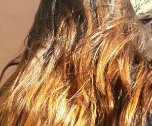 cheveux, tie and die, and balayage image