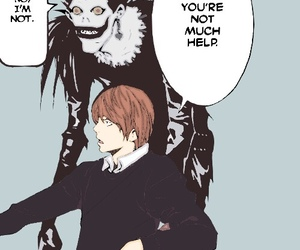 death note, manga, and ryuk image