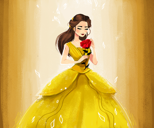disney, beauty and the beast, and beauty image