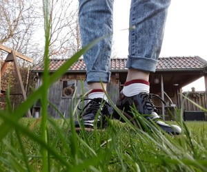 nature, shoes, and vintage image