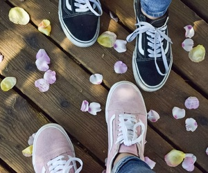 bff, black, and flowers image