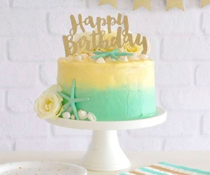 cake, happy, and shell image