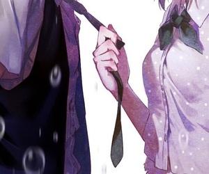 anime couples, kaneki ken, and cute image