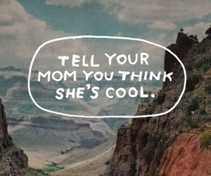 quote, mom, and thoughts image