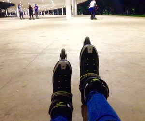 ibirapuera, patins, and roller image