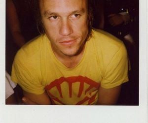 heath ledger, polaroid, and heath image