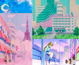 anime, sailor moon, and sailormoon image
