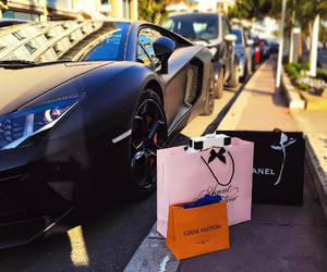 luxury and shopping image