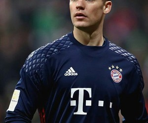 baby, handsome, and manuel neuer image