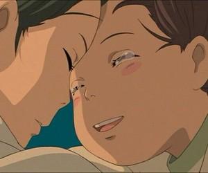 anime, falling, and spirited away image