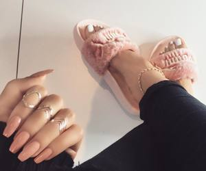 nails, puma, and shoes image