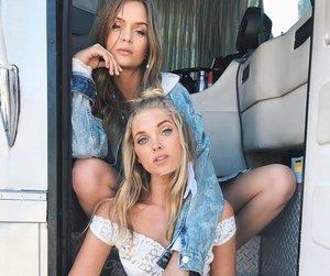 elsa hosk, fashion, and friendship image