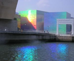 rainbow, building, and city image