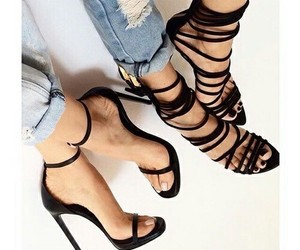 heels and straps image