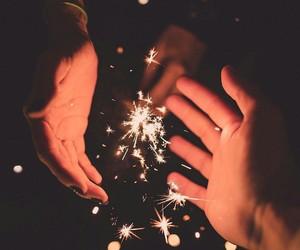 light, tumblr, and fireworks image