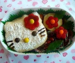 hello kitty bento, cute bento boxes, and kawaii bento image
