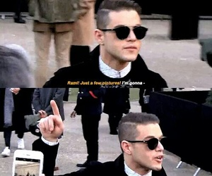 actor, iconic, and mr. robot image