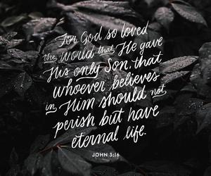 bible, god, and john image