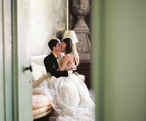 boda, pareja, and antes image