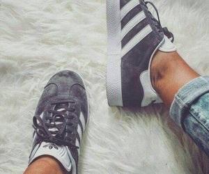 adidas, gazelle, and sneackers image