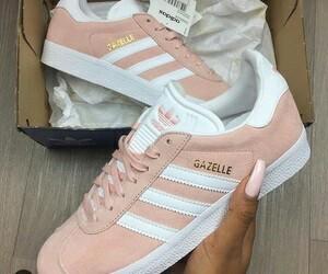 adidas, pink, and gazelle image