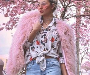 celebrity, fashion, and fur image
