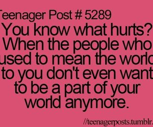 hurt, quote, and teenager post image
