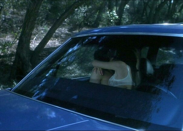 blue, car, and couple image