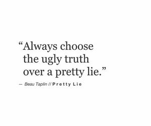 quotes, lie, and sayings image