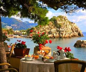 italy, summer, and sea image