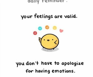 cute and emotions image
