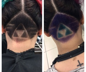 colour, hair, and link image
