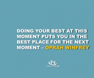 inspiration, text, and oprah image