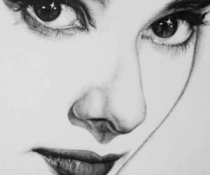 art, audrey hepburn, and drawing image