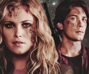 the 100, clarke, and bob morley image