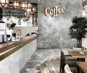 coffee, cafe, and decor image