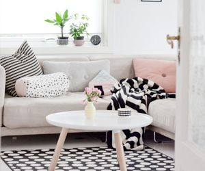 cozy, interior, and pillows image