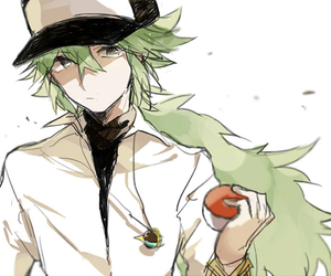 green, pokemon, and sad image