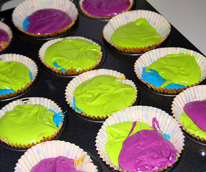 cupcake, green, and photography image