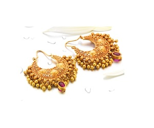 earrings and gold image