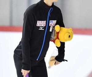 yuzuru hanyu, figure skating, and yoi image