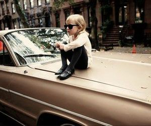 kids, car, and child image