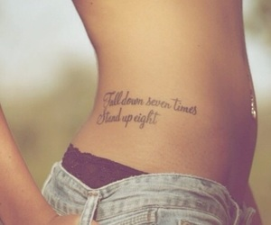 green, tattoo, and quote image